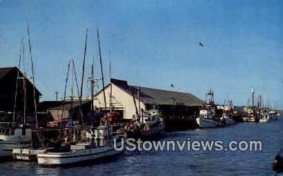 Lazio's Seafood Restaurant - Eureka, California CA Postcard