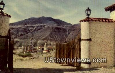 Scotty's Castle Grounds - Death Valley, California CA Postcard