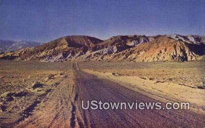 Desert Land - Death Valley, California CA Postcard