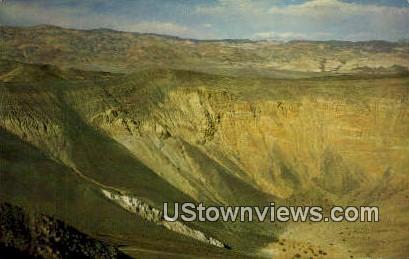 Ubehebe Crater - Death Valley, California CA Postcard