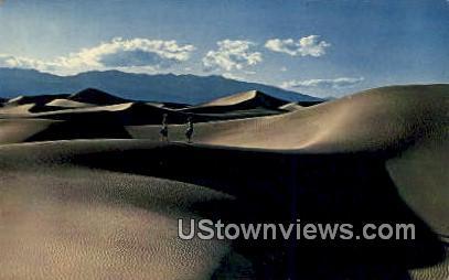 Death Valley Sand Dunes - California CA Postcard