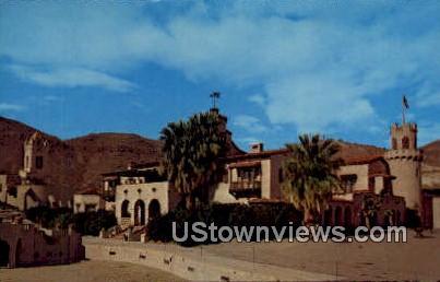 Scotty's Castle - Death Valley, California CA Postcard