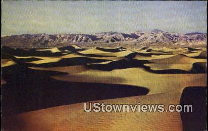 Funeral Range - Death Valley, California CA Postcard
