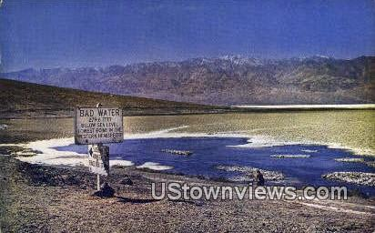 Death Valley National Monument - California CA Postcard