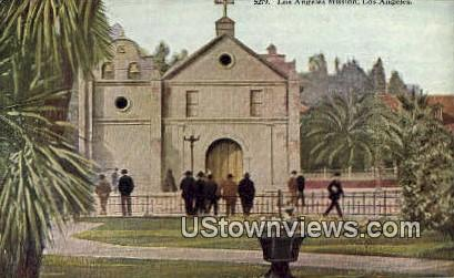 Los Angeles Mission - California CA Postcard