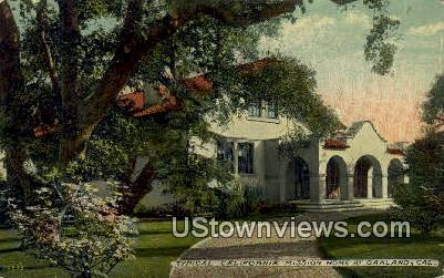 California Mission Home - Oakland Postcard