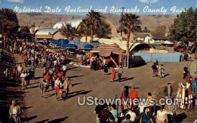 National Date Festival - Riverside, California CA Postcard