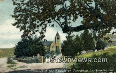 Church of the Angels - Los Angeles, California CA Postcard
