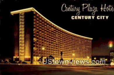 Century Plaza Hotel - Century City, California CA Postcard