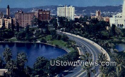 MacArthur Park - Los Angeles, California CA Postcard
