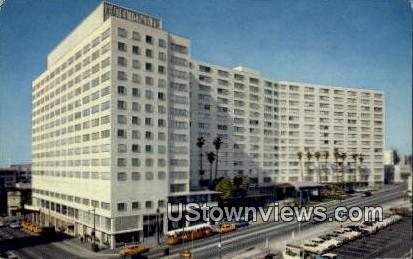 The Statler Center - Los Angeles, California CA Postcard