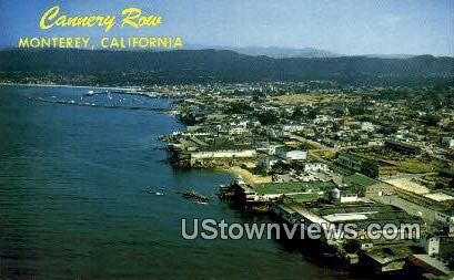 Cannery Row - Monterey, California CA Postcard