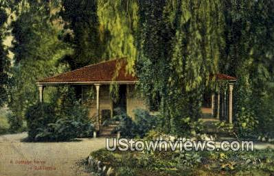 Cottage Home - MIsc, California CA Postcard