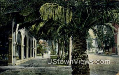California St. - Riverside Postcard
