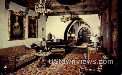 First Floor, Scotty's Castle - Death Valley, California CA Postcard