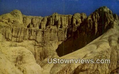 Cathedral Rock - Death Valley, California CA Postcard