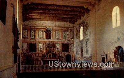 Mission Santa Ines - Solvang, California CA Postcard
