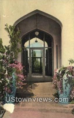Persian Hotel - Santa Barbara, California CA Postcard