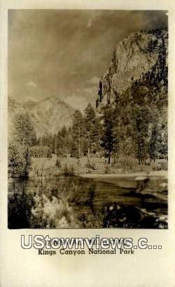 Zumnwalt Meadows - Kings Canyon National Park, California CA Postcard