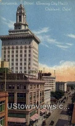 City Hall - Oakland, California CA Postcard