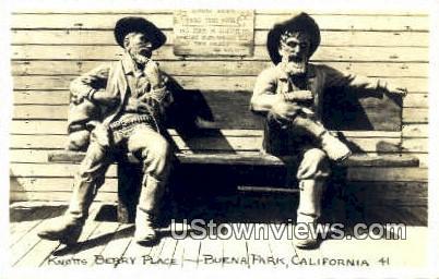 Knotts Berry Place - Buena Park, California CA Postcard