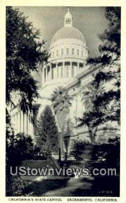 California's State Capitol - Sacramento Postcard