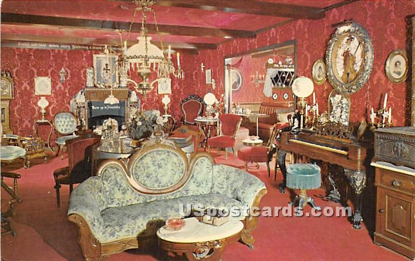 Ye Olde Hoosier Inn - Stockton, California CA Postcard