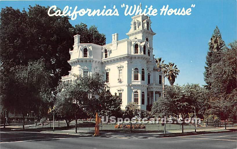 Governor's Mansion - Sacramento, California CA Postcard