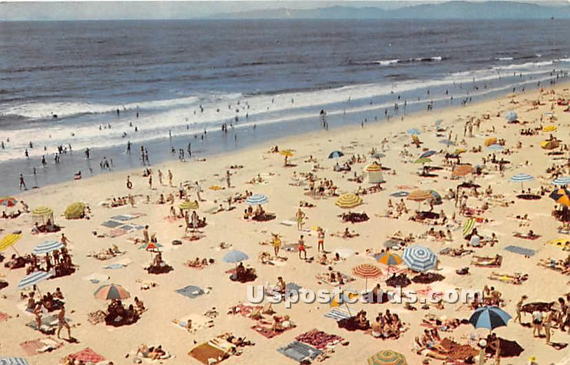 Southern California Beaches - Santa Barbara Postcard