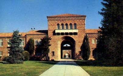 Sacramento Junior College - California CA Postcard