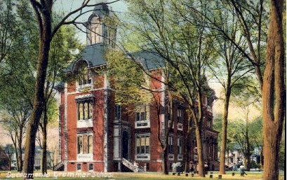 Sacramento Grammar School - California CA Postcard