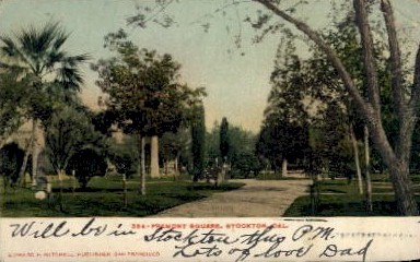 Fremont - Stockton, California CA Postcard