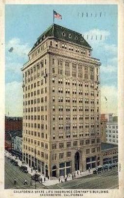 California State Life Insurance Company - Sacramento Postcard