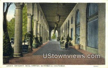 Hotel Senator - Sacramento, California CA Postcard