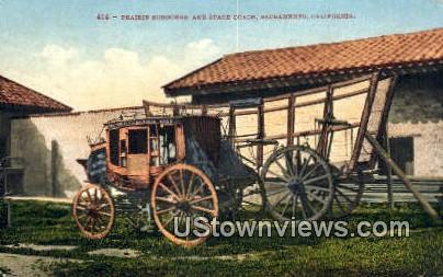 Prairie Schooner - Sacramento, California CA Postcard