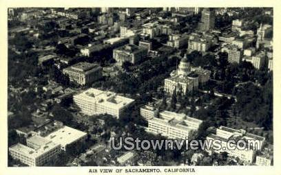 Sacramento - California CA Postcard