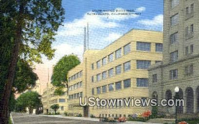 State Office Bldg - Sacramento, California CA Postcard
