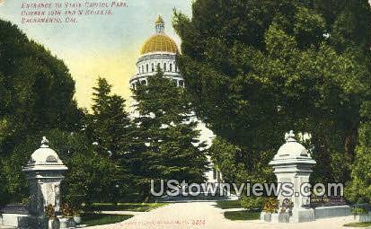 State Capitol Park - Sacramento, California CA Postcard