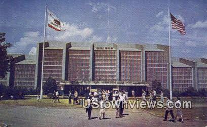 Hall of Flowers - Sacramento, California CA Postcard