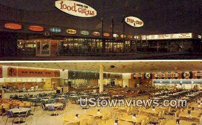 Food Circus, Arden Fair Shopping Center - Sacramento, California CA Postcard