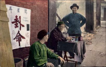 A Chinese Fortune Teller - San Francisco, California CA Postcard
