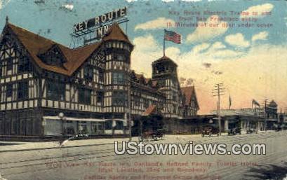 Key Route Inn - San Francisco, California CA Postcard