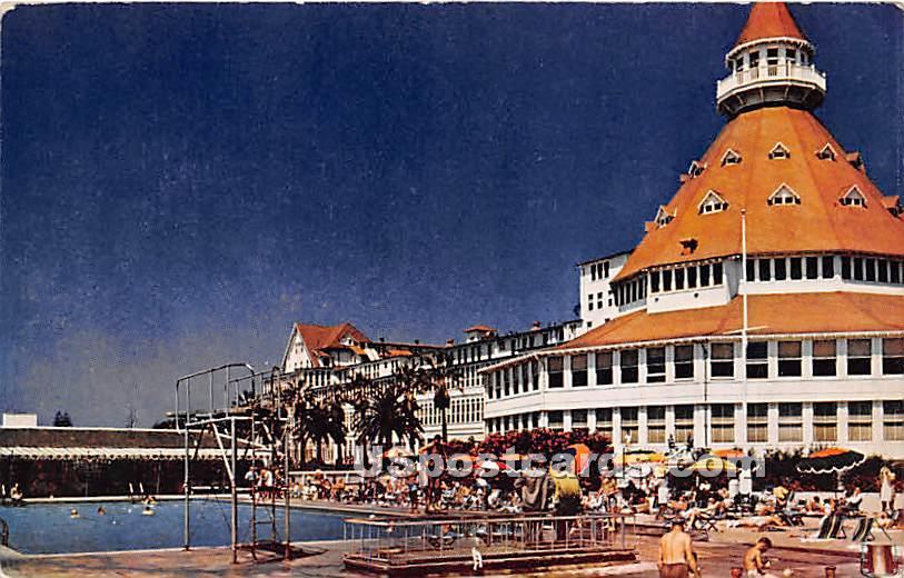 Coronado Hotel - San Diego, California CA Postcard