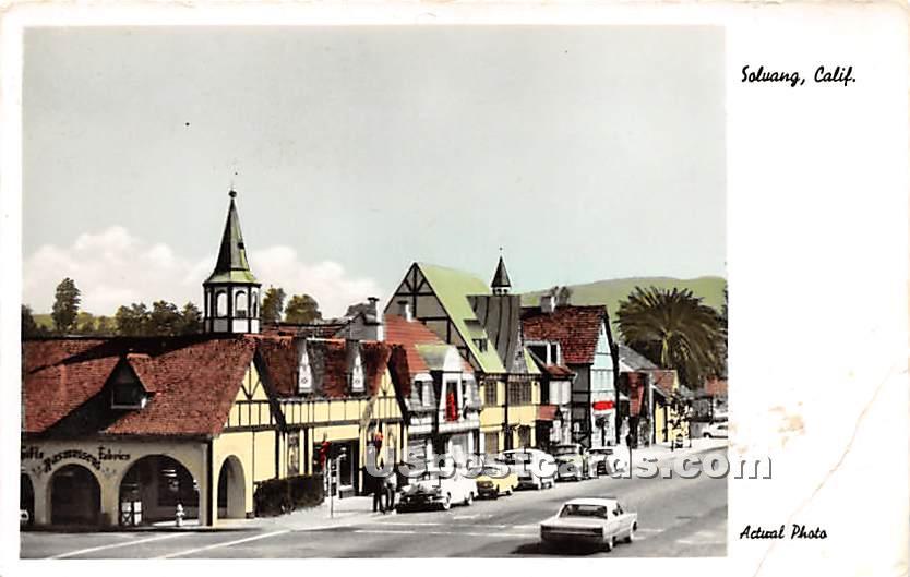 Solvang, California CA Postcard