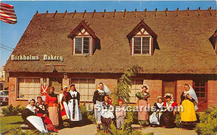 Danish Costumes, Danish Days - Solvang, California CA Postcard