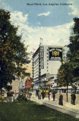 Hotel Clark - Los Angeles, California CA Postcard