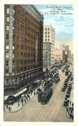 Loew's State Theatre - Los Angeles, California CA Postcard