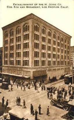 Establishment of the H. Jevne Co. - Los Angeles, California CA Postcard