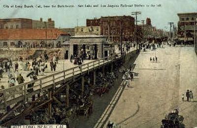 Long Beach, California, CA Postcard