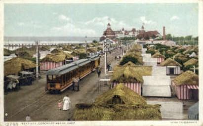 Tent City - Coronado Beach, California CA Postcard